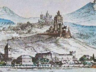 Plan für ein Kaiser-Wilhelm-Denkmal