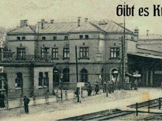 Bahnhof Herbesthal an der belgischen Grenze