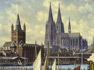 Köln in den 1880ern