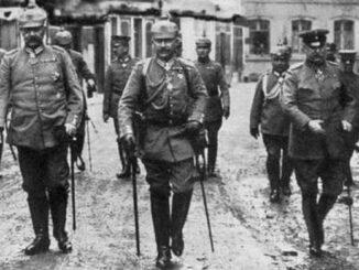 OHL, Hindenburg, Wilhelm II., Ludendorff