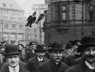 Demonstration gegen den Kapp-Lüttwitz-Putsch