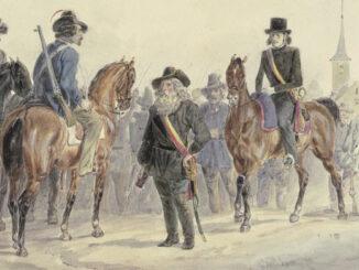 Badische Revolutionäre in Rastatt, 1849
