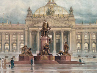 Bismarckstatue vor dem Reichstag, Berlin