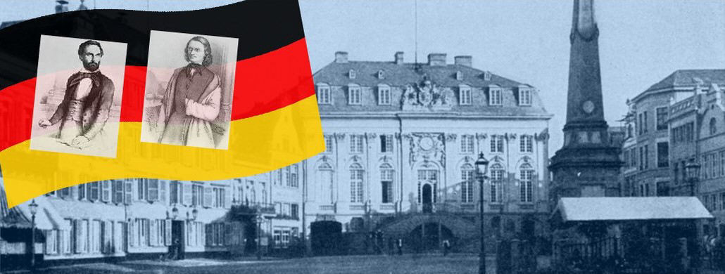 Bonn 1848, Kinkel und Schurz