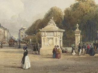 Brüssel in den 1850ern