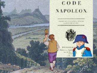 Siebengebirge von der Godesburg, Code Civil