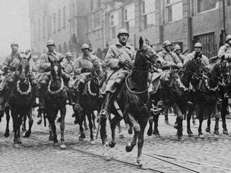 Einmarsch französischer Soldaten ins Ruhrgebiet