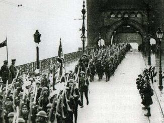 Einmarsch der Alliierten in Bonn, Dezember 1919
