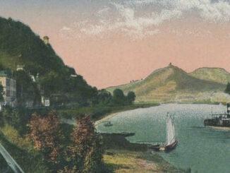 Siebengebirge und Rhein von Rolandseck