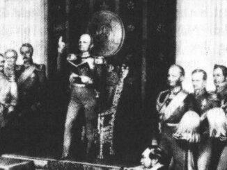 Die Deputation der Nationalversammlung bei Friedrich Wilhelm IV.