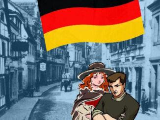 Königswinter, da Schwarz-Rot-Gold der Weimarer Republik
