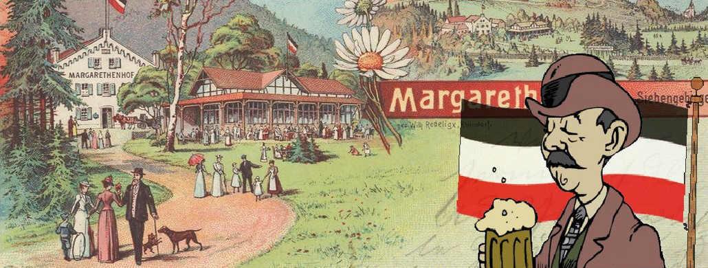 Margarethenhöhe zur Kaiserzeit