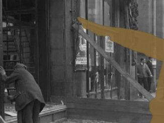 Zerstörtes jüdisches Kaufhaus Wertheim, Berlin