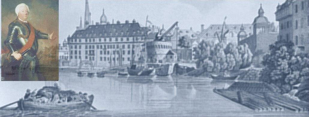 Düsseldorf in jenen Jahren, Friedrich Wilhelm I.