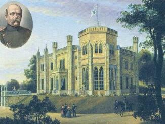 Schloss Babelsberg, Augusta, Wilhelm I., Bismarck