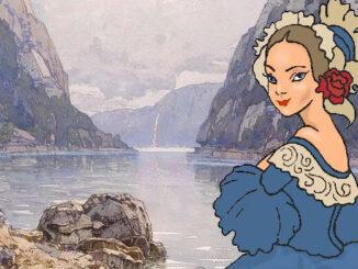 Sophie Csabany an der Donau