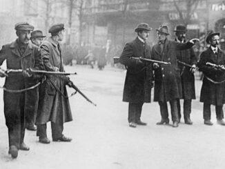 Berlin 1918/19, Spartakisten