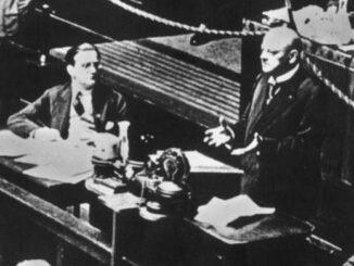Gustav Stresemann vor dem Völkerbund, Septembern1926