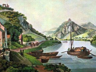 Ziegler, Siebengebirge von Rolandseck